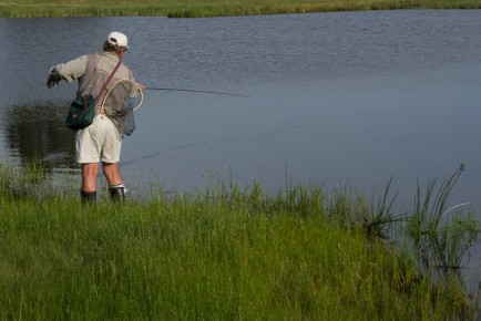 flyfishing in Lakenvlei